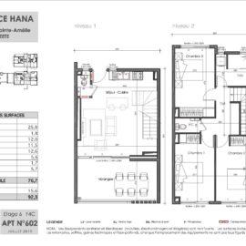 Residence Hana plan Duplex 1