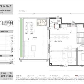 Residence Hana plan Duplex 3 niv1