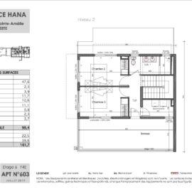 Residence Hana plan Duplex 3 niv2